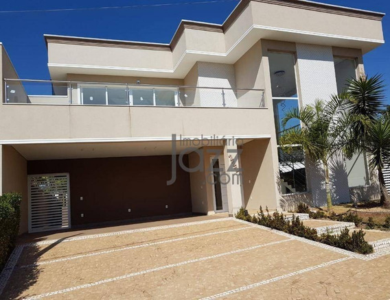 Encantadora Casa Com 4 Suítes À Venda, 300 M² Por R$ 1.196.000 - Jardim Santa Rita De Cássia - Hortolândia/sp - Ca6863