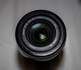 Lente Canon Ef-s 15-85mm F/3.5-5.6 Is Usm (ultrasonic) Canon