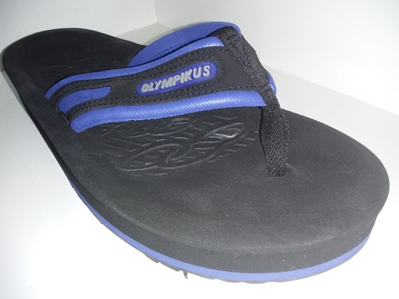 Sandalia Chinelo Olympikus Preto Royal Ref 920