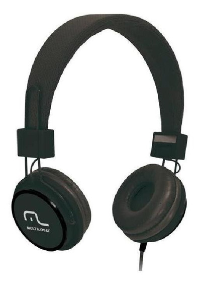 Fone De Ouvido Headphone Fun Preto Ph115