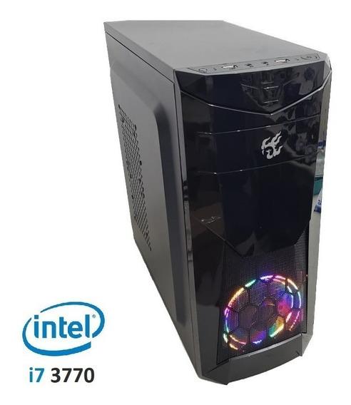 Pc Cpu Gamer Core I7 3.9ghz 16gb Ssd 240gb Gtx1050 Font 500w