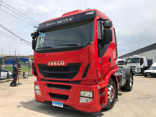 Iveco Stralis Hi Way 440 4x2 2014 = 380 420 Scania Mb Volvo