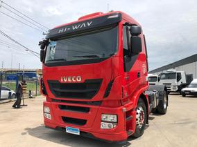Iveco Stralis Hi Way 440 4x2 2014 = 380 420 Scania Mb Volvo