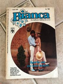 Livro De Romance Bianca Número 56 Aperte-me Em Seus Braços
