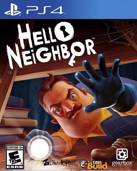Hello Neighbor - Ps4 - Mídia Física
