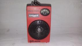 Radio Portátil Prince Am Anos 70 Ñ Motoradio/philco/sharp
