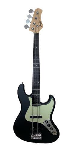 Imagem 1 de 5 de Contrabaixo Memphis  J.bass 4 Cordas Mb-50 Bks Black Satin