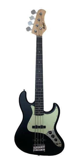 Contrabaixo Memphis J.bass 4 Cordas Mb-50 Bks Black Satin