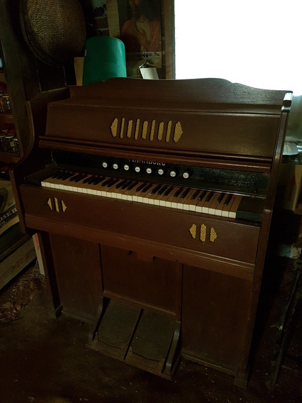 Piano Harmônio Alemão Mannborg