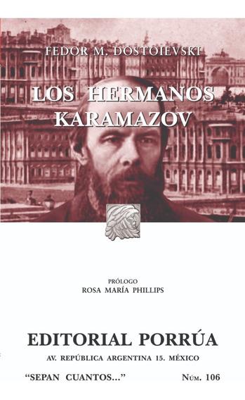 Los Hermanos Karamazov Novela Dostoievski Editorial Porrua