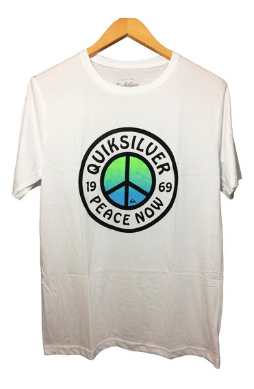 Camisa Unisex Quiksilver Modelo Paz Hippie Frete Gratis Promoção Até 20-09-2019
