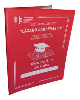 Folder T.carta De Vinil Porta Documentos Graduacion (estafet