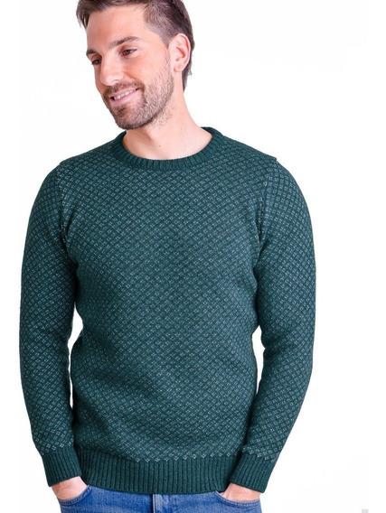 Sweater Cuello Redondo Caballero-mauro Sergio - Art 408