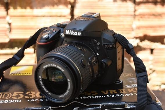 Câmera Nikon D5300 + Lente 18-55 G Vr Ii