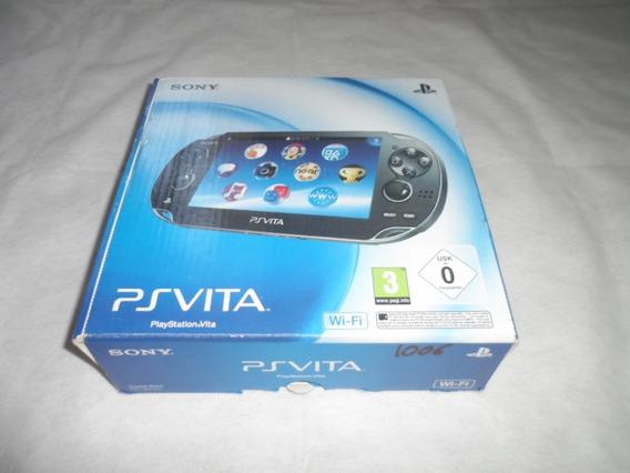 Console Psp Vita Modelo 1006 Novo Sony Psp Vita 1006 Black