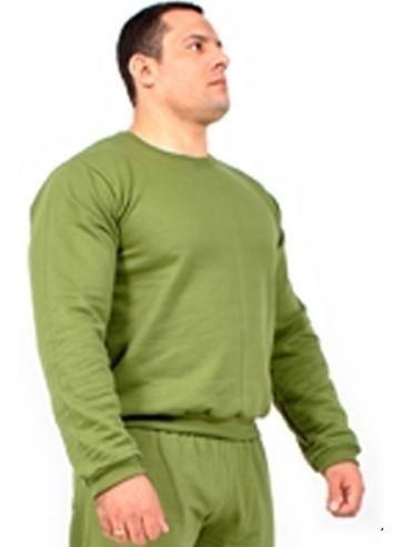 Casaco Blusa Moletom Liso Verde Mundo Do Militar