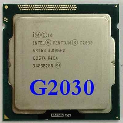 Pentium G2030 Dual Core 3.0ghz Cooler Original