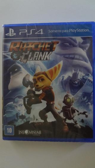 Ratchet Clank Ps4 Mídia Física Novo E Lacrado