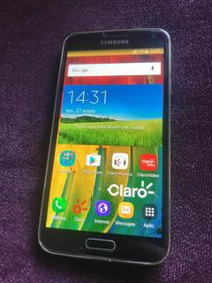 Oferta Celular Samsung Galaxy S5 Usado Excelente + 2 Fundas