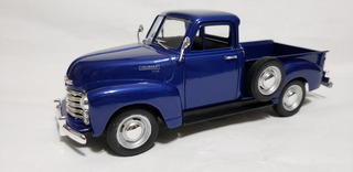 Miniatura Da Pick-up Chevrolet 1950 1:24 Welly