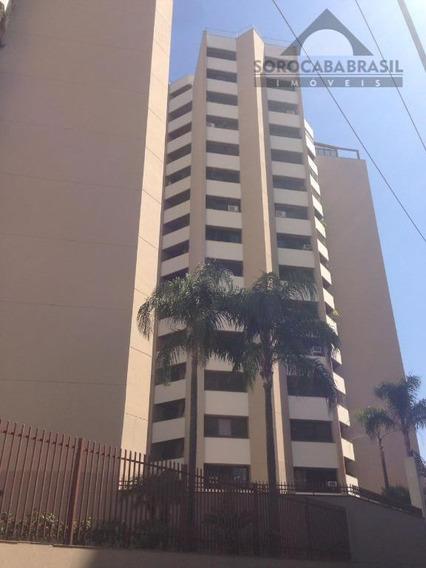 Apartamento Para Venda E Locação, Centro, Edifício Alcoléia Em Sorocaba-sp, 3 Dormitórios,2 Vagas De Garagem, Área Útil 173,25m² - Ap0331