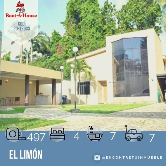 Casa En Venta En Maracay, El Limón 20-12033 Scp