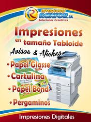 Impresiones Tamaño Tabloide, Afiches. En Glasse.