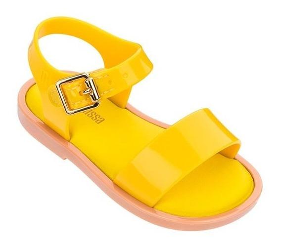 Sandalias Niñas Mini Melissa Mar Sandal Iii Amarillo