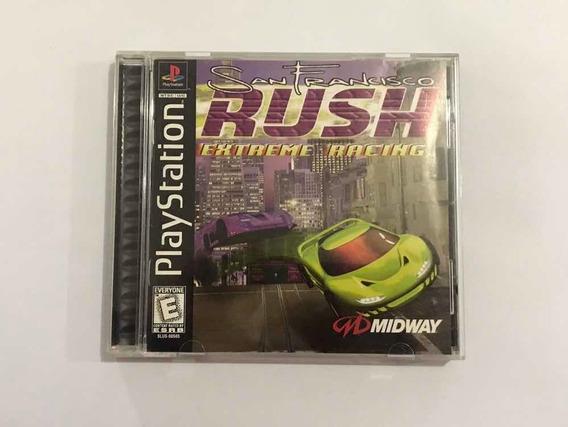 Rush Extreme Racing San Francisco Playstation 1 Original Ps1