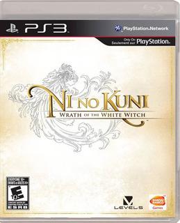 Ni No Kuni: Wrath Of The White Witch Ps3 Nuevo Envio Gratis