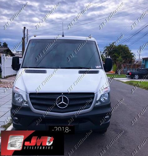 Imagem 1 de 11 de M.benz Sprinter 415 Ano 2018 Luxo Jm Cod 909