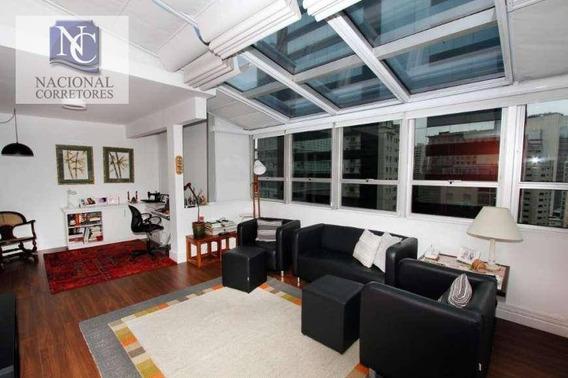 Apartamento Duplex Com 3 Dormitórios À Venda, 140 M² Por R$ 1.550.000,00 - Vila Olímpia - São Paulo/sp - Ad0022