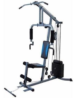 Estação De Musculação Aparelho Ginastica Academia Com 45kg