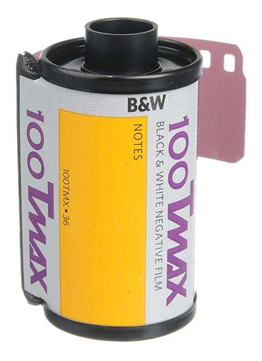 Filme Fotográfico Kodak T-max 100 Branco E Preto 135-36