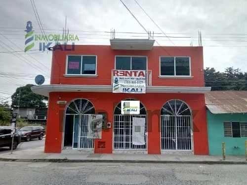 Renta Local Comercial Planta Baja Centro Tuxpan Veracruz. Local Comercial En Planta Baja En Calle Fausto Vega Santander Esquina Con Garizurieta, Cuenta Con Medio Baño Mide 8 M. De Fondo X 3.30 Metros