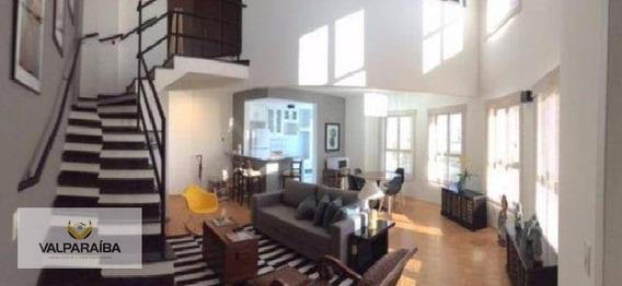 Apartamento Duplex Lindíssimo, 85 M² - Jardim Aquarius - São José Dos Campos/sp - Ad0003