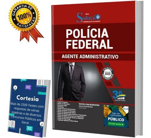 Apostila Polícia Federal - Agente Administrativo Pf