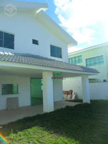 Imagem 1 de 24 de Casa À Venda Com 4 Dormitórios Em Jauá  Por R$ 720.000 - - Camaçari/ba - Ca0272