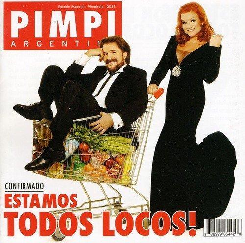 Cd : Pimpinela - Estamos Todos Locos (cd)