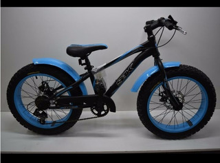 Bicicleta Sbk Hunter Fat Bike R20 7v