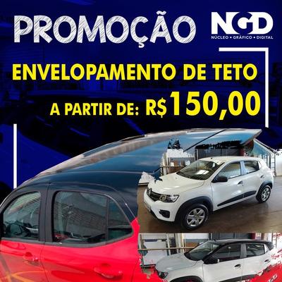 Envelopamento De Teto Automotivo A Partir De R$ 150,00