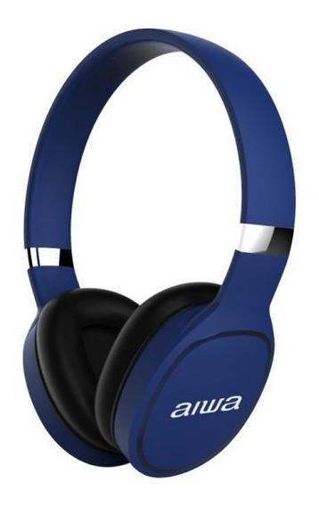 Audífonos Inalambricos Aiwa Azul Garantía Tienda Física