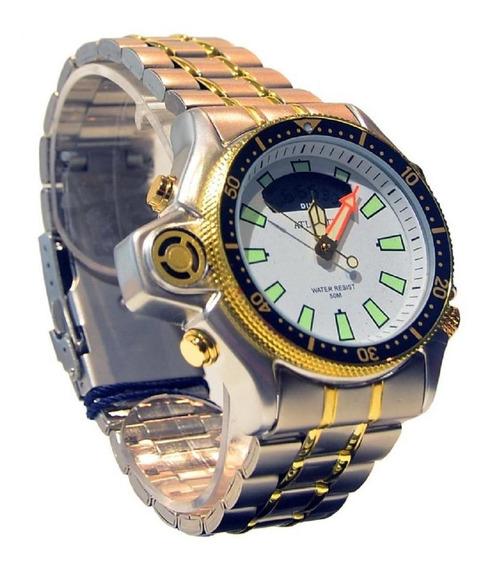 Relógio Masculino Atlantis Mr18012t Branco