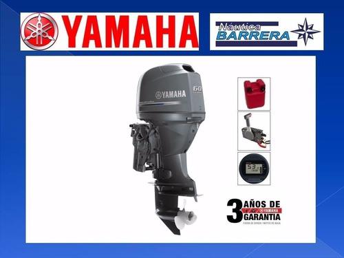 Motor Yamaha 60 Hp 4t Efi En Stock Consultar X Contado!!
