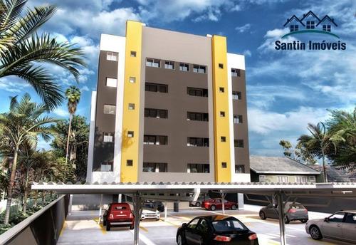 Cobertura Com 2 Dormitórios,espaço Gourmet,vaga Coberta À Venda, 98 M² - Cidade Jardim - São José Dos Pinhais/pr - Co0438