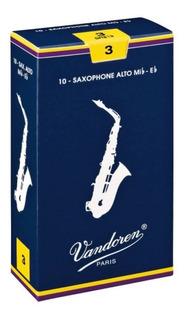 Cañas Para Saxofón Alto Vandoren Dureza 3