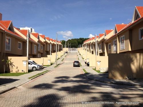 Sobrado Em Condomínio Com 3 Dormitórios À Venda Com 124.36m² Por R$ 699.900,00 No Bairro Barreirinha - Curitiba / Pr - M2ba-rsm