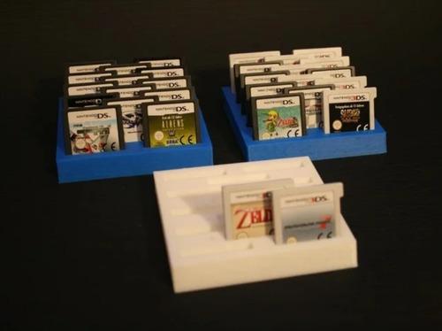 Stand Juegos Nintendo Ds 3ds Cartucho Soporte