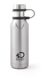 Botella Agua Termo Termica Discovery 750ml Running Fit