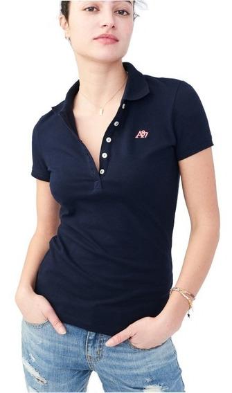 Camiseta Gola Polo Feminina - Aeropostale
